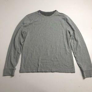 Lululemon Athletica Gray Long Sleeve Shirt Medium